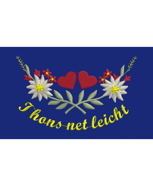 Südtiroler Speckbrett - 23 x 18 cm